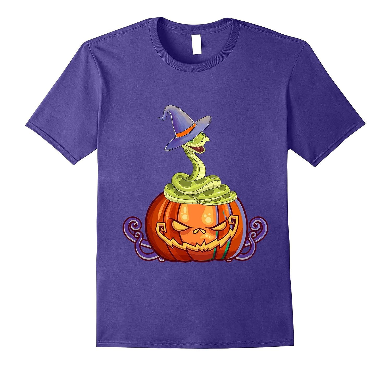 Snake With Pumpkin, Best Gift Shirt For Halloween-ANZ