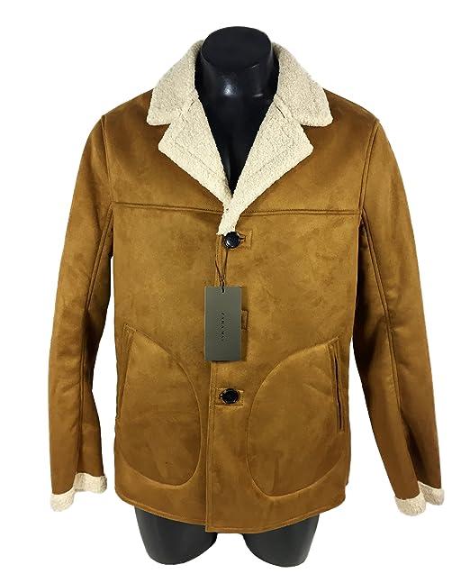Zara - Abrigo - para hombre marrón marrón XXL