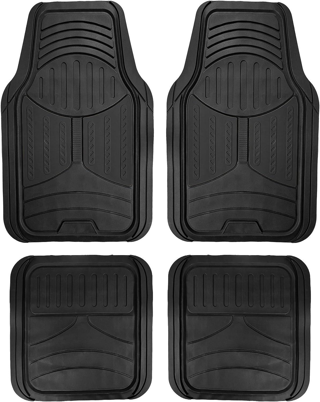 FH Group F11313BLACK Rubber Floor (Black Full Set Trim to Fit Mats)