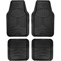 $26 » FH Group F11313BLACK Rubber Floor Mat (Black Full Set Trim to Fit Mats)
