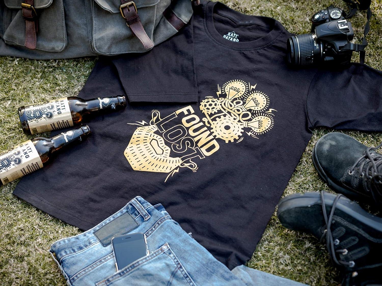 Kati Patang Found Lost Black T-Shirt: Amazon in: Clothing