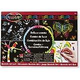 Melissa & Doug 15981 - Set per Scratch Art, Combo di Lusso