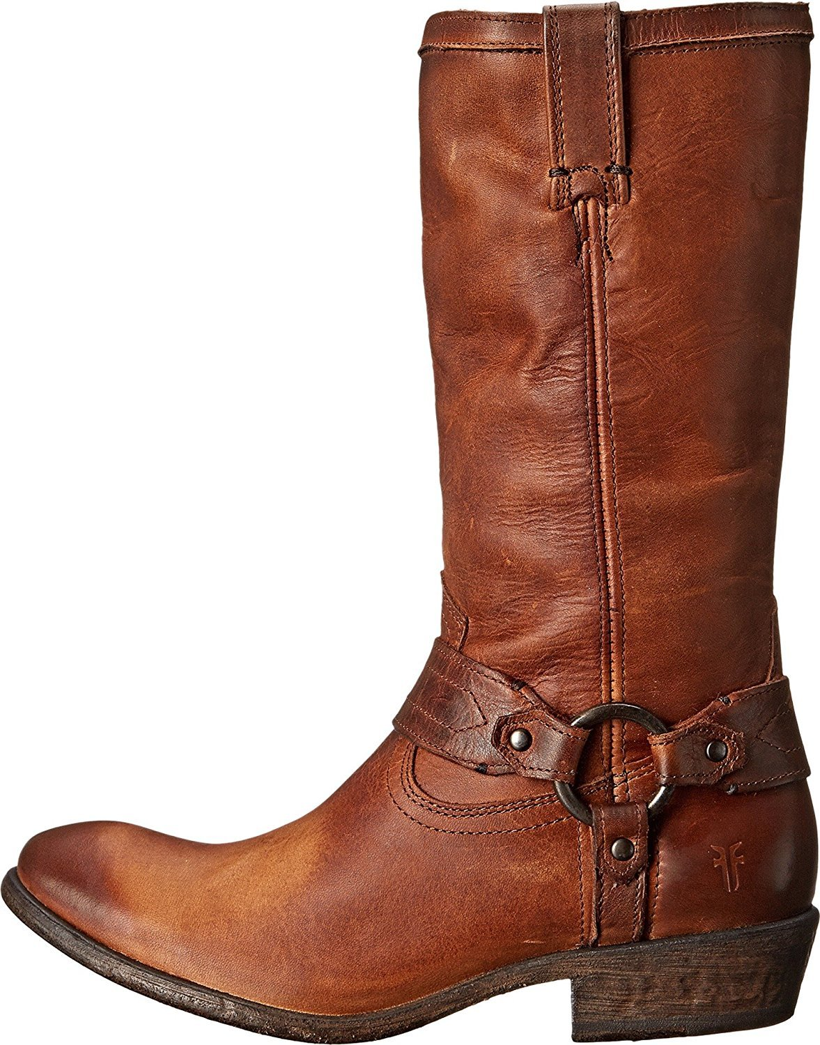 FRYE Women's Carson Harness Washed B00SSQIEZG 8.5 B(M) US|Cognac Washed Harness Antique Pull Up 0ef279