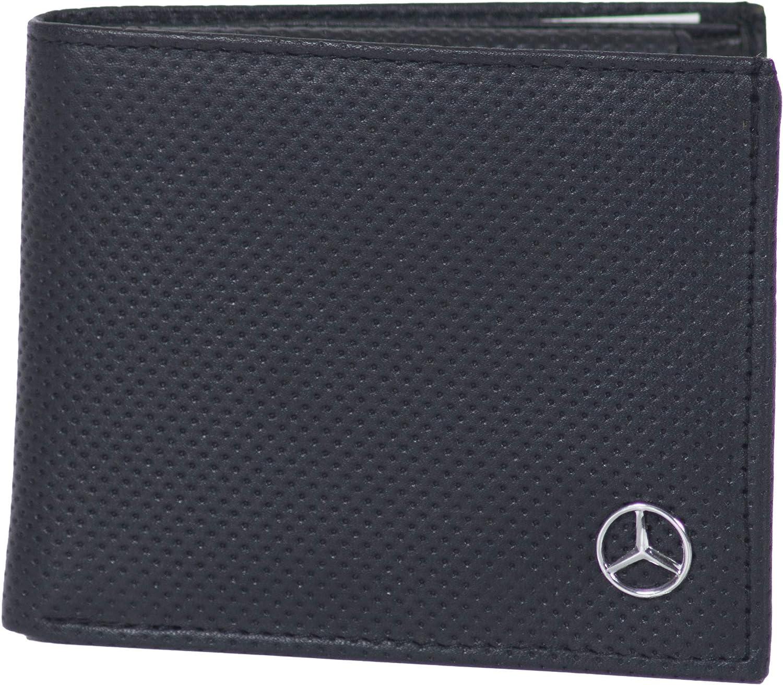 Cartera de Piel aut/éntica Mercedes DP2 Color Negro