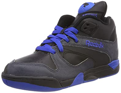 1302f9b8c8b7f Reebok Classic Court Victory Pump Black Grey Unisex Trainers Size UK ...