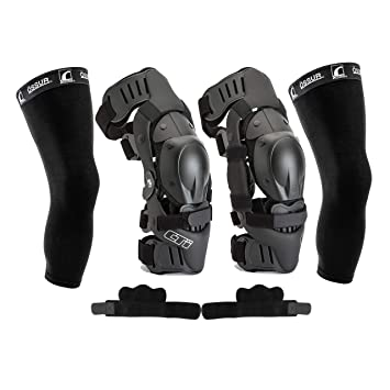 Mx Knee Braces >> Cti Knee Brace Protection Set Includes Right And Left Sides Patella Protectors Gear Guards
