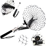 SAMS Folding Fishing Nets Landing Net Detachable Catch and Release Fish Nets Saver for Kayak Boating