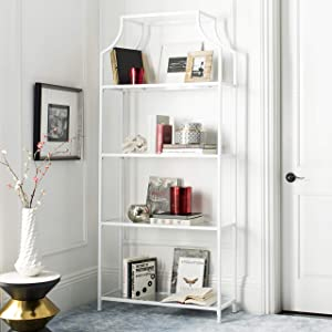 Safavieh Home Collection Slater 4 Tier Etagere, White