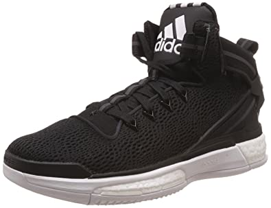new arrivals 56436 95506 adidas Herren D Rose 6 Boost Baseballschuhe Weiß (FTWR White Core Black), 40