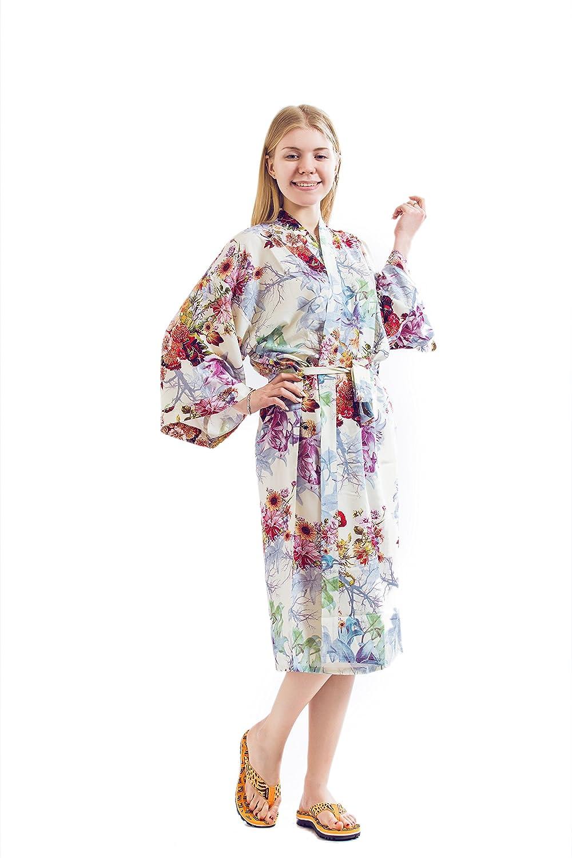 Robe& Wedding Bride Robe Women Robe Cotton Robe Long Style R0006