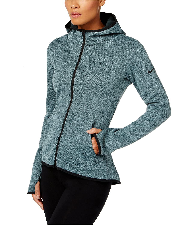 quality design 41d51 b66e5 Amazon.com  Nike Women s Hypernatural Therma Full Zip Training Hoodie, XL   Sports   Outdoors