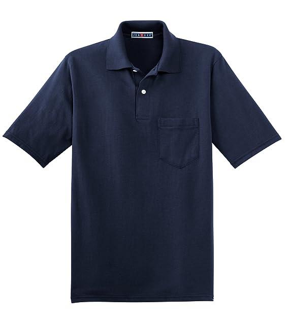 Jerzees Herren Poloshirt Blau marineblau