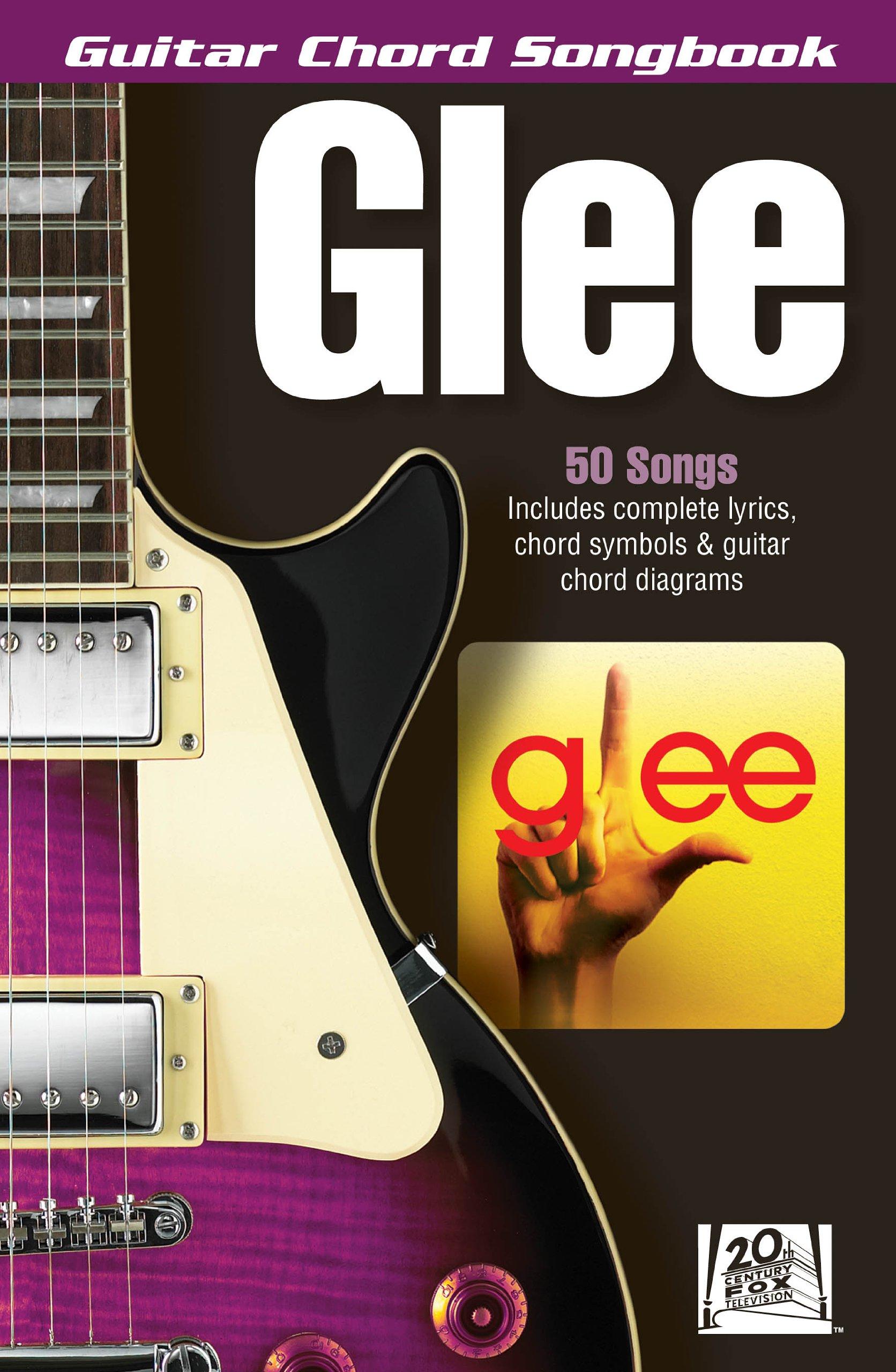 Amazon Glee Guitar Chord Songbook Guitar Chord Songbooks