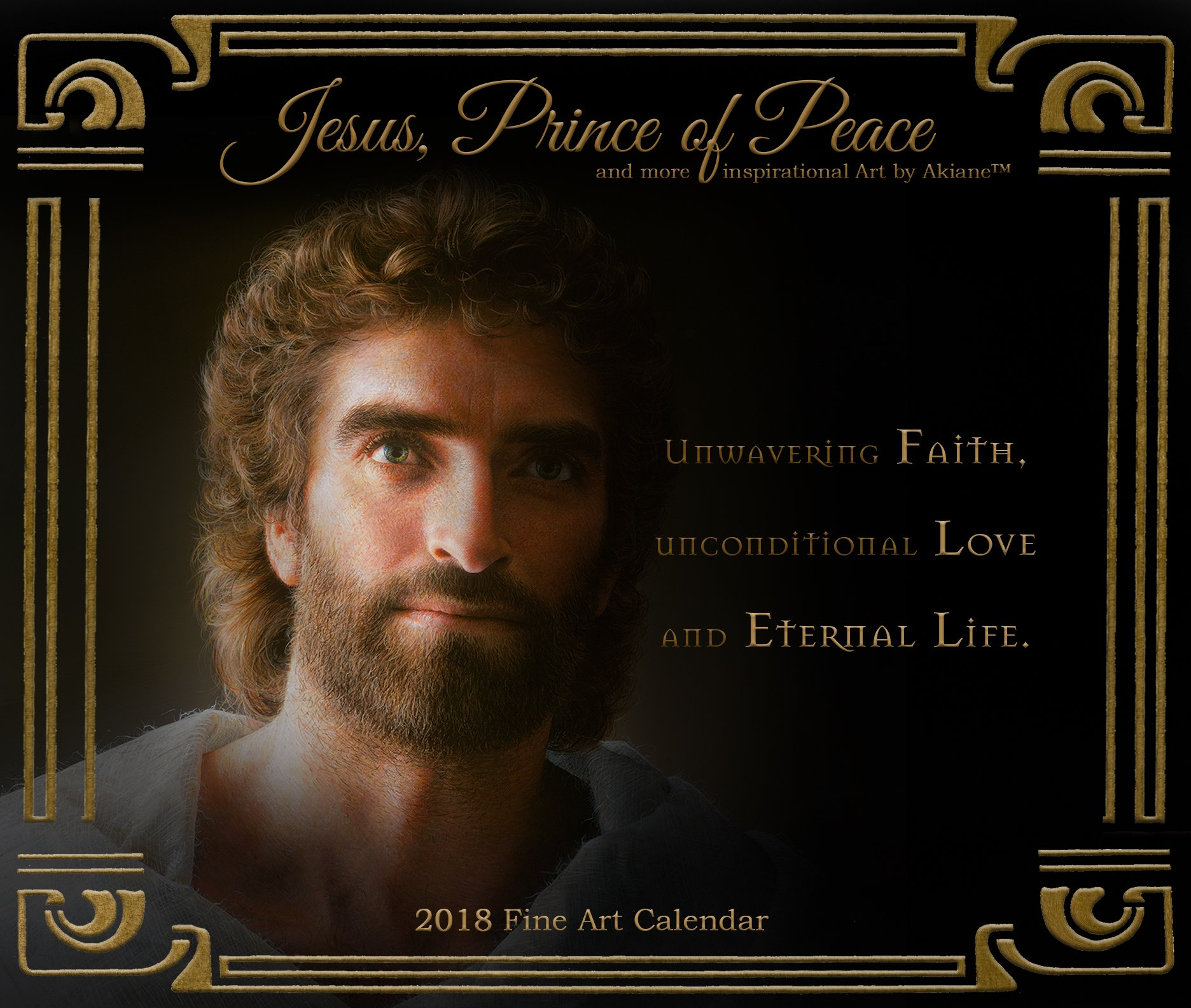Amazon Com Jesus Art By Akiane Kramarik Note Card