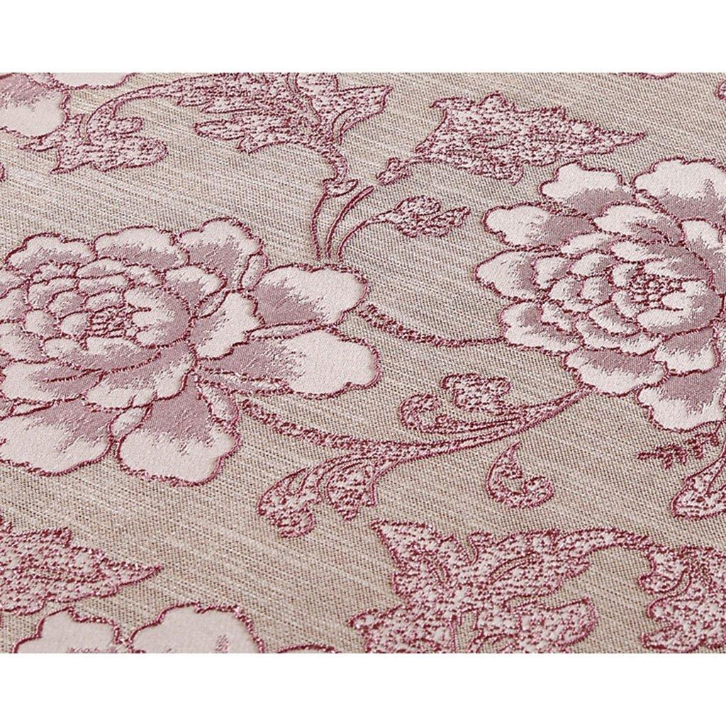 ZWL Tischtuch Tischtuch Rundtisch Stoff Tischtuch , Fügen Sie Küche Vitalität in die Küche Sie ( Farbe : Pink , größe : 150*200cm ) 1f284c