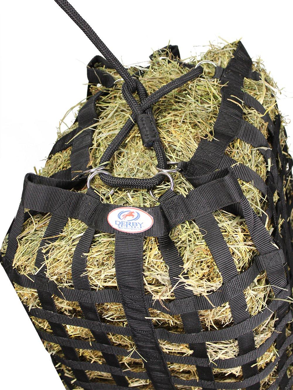 Derby Originals XL Go Around 4 Sided Slow Feed Hay Bale Bag Patented (Black) by Derby Originals (Image #3)