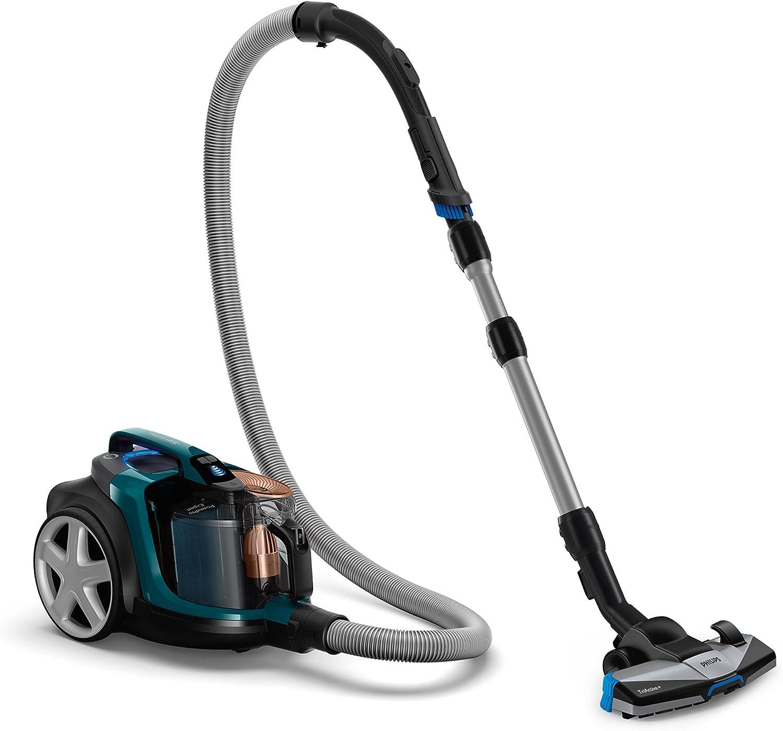 Philips PowerPro Expert FC9744/09 - Aspiradora (750 W, Aspiradora cilíndrica, Secar, Sin bolsa, 2 L, Filtro EPA), Verde y negro: Amazon.es: Hogar