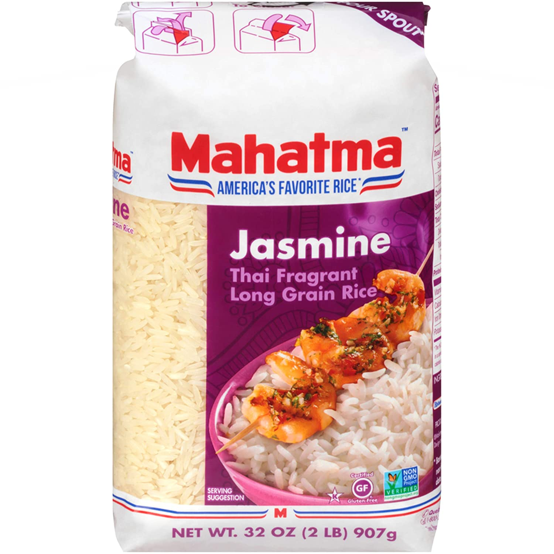 Amazon Com Mahatma Jasmine Rice Long Grain 32 Oz Jasmine