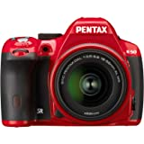 Pentax K-50 16MP Weather Resistant Digital SLR Camera with SMC DA 18-55mm F/3.5-5.6AL Zoom Lens (Red)