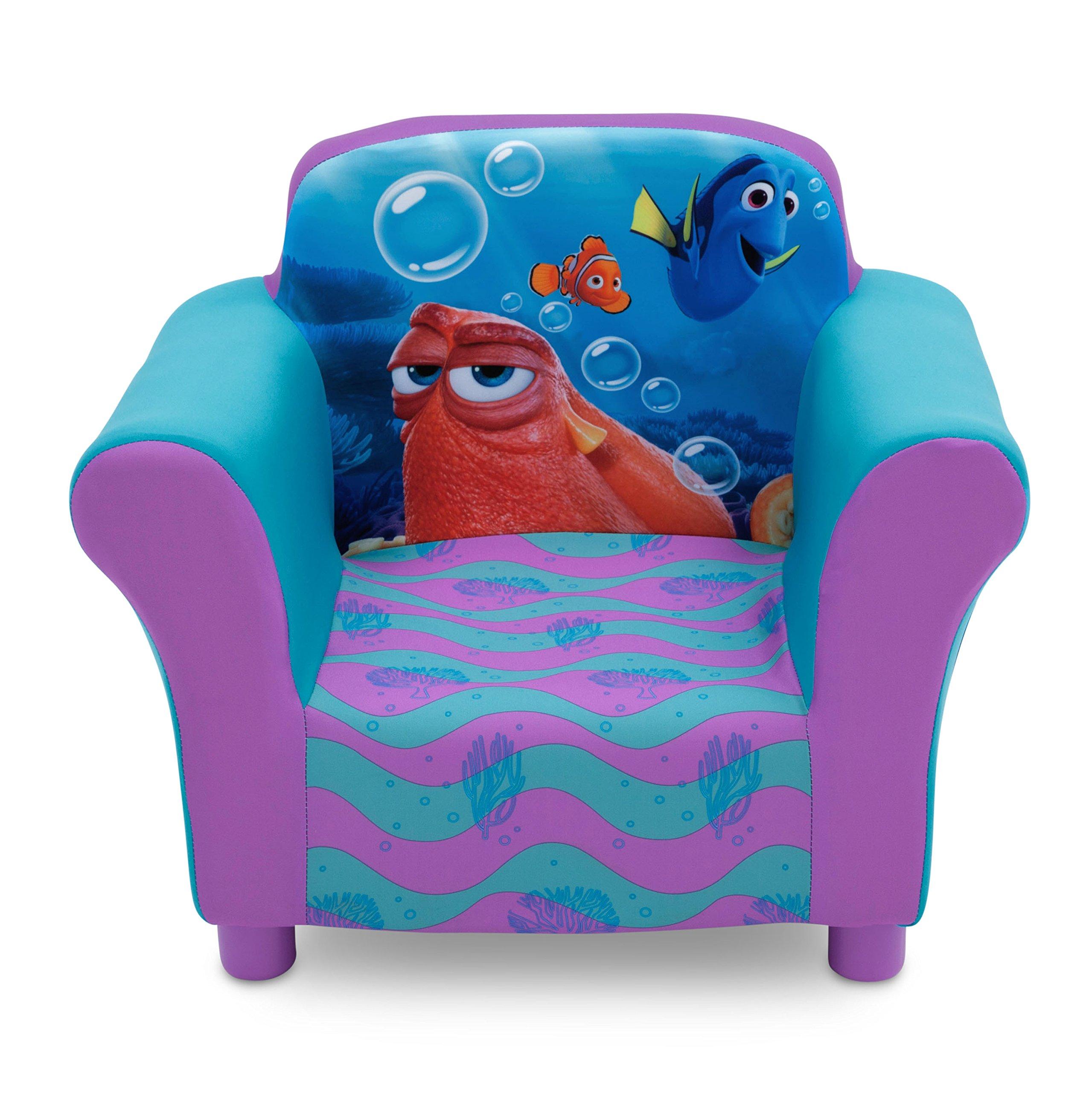 Amazon Com Delta Children Upholstered Chair Disney