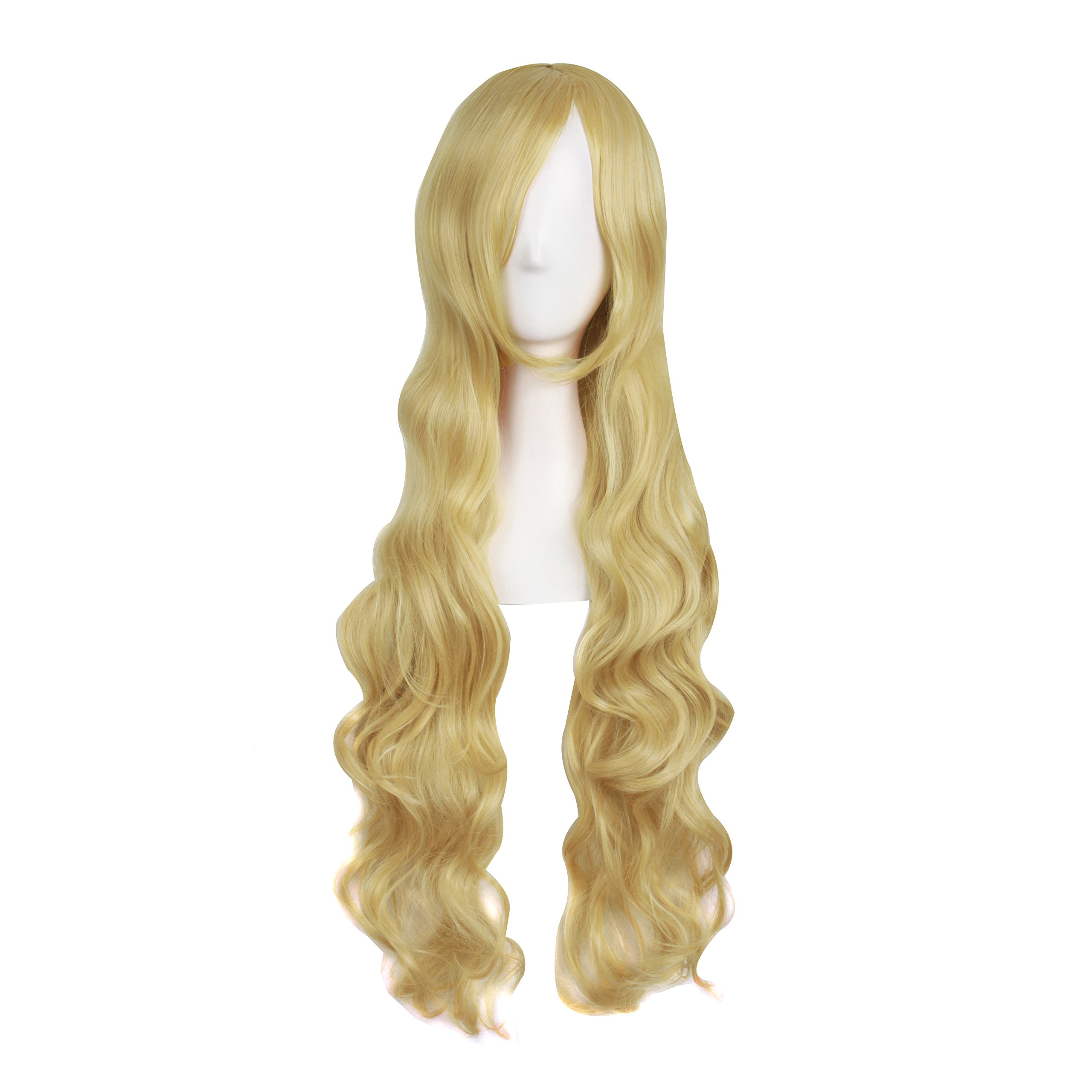 amazoncom mapofbeauty 32quot 80cm long hair spiral curly