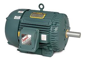 BALDOR ECP83580T-5 IEEE 841 Three Phase, TEFC, 575Volts, Foot Mounted Severe Duty Motor, 1 hp, 3450 RPM, 3PH, 60 Hz, 143T, 0516M, TEFC, F1, 575V, Steel
