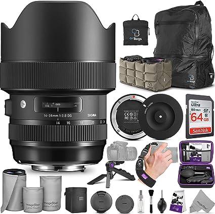 Sigma 14 24 Mm F 2 8 Dg Hsm Art Objektiv Für Canon Ef W Kamera