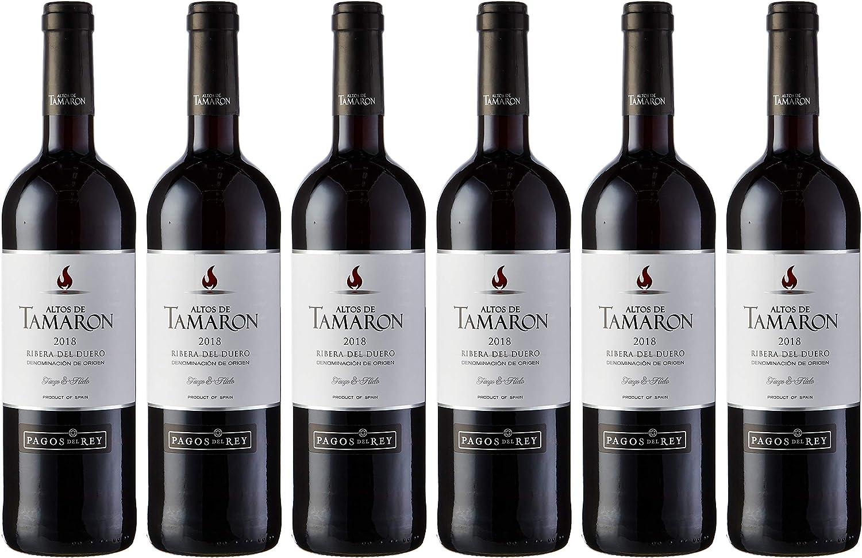 Altos De Tamaron Vino Tinto D.O. Ribera del Duero Joven - 6 Paquetes de 750 ml - Total: 4500 ml