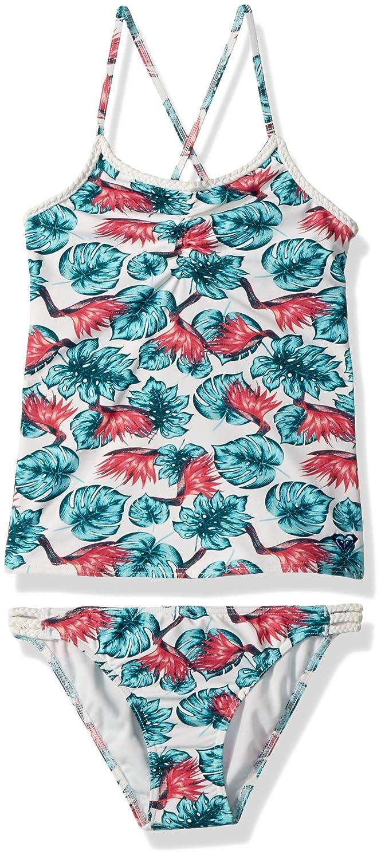 208cc89834 Amazon.com: Roxy Big Girls' Beach Days Tankini Swimsuit Set: Clothing