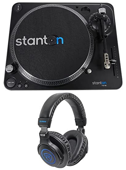 Amazon.com: Stanton t.62 M2 DIRECT-DRIVE straight-arm DJ ...