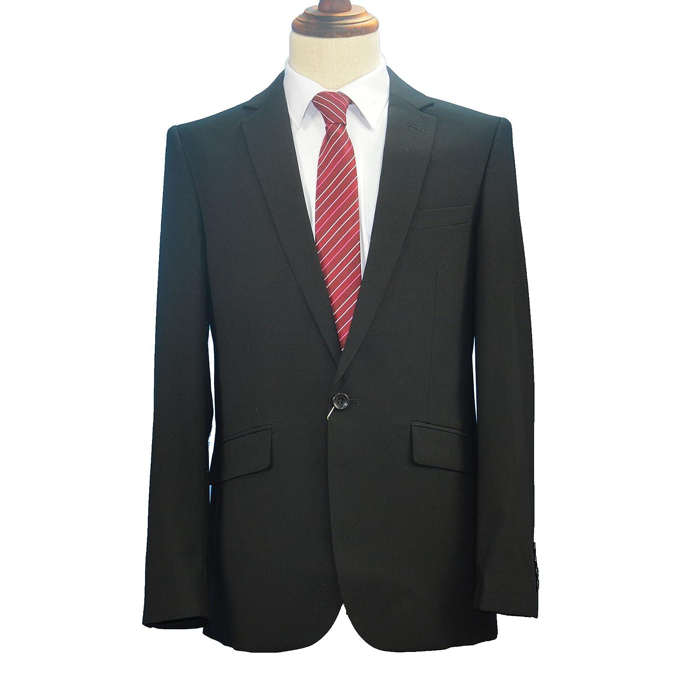 Footmark Mens Slim Fit Casual One Button Blazer Jacket