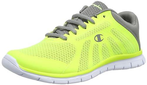 a8c44ac4de4ec Champion Boys  Low Cut Shoe ALPHA B YOUTH Running Shoes Yellow Size  1 UK