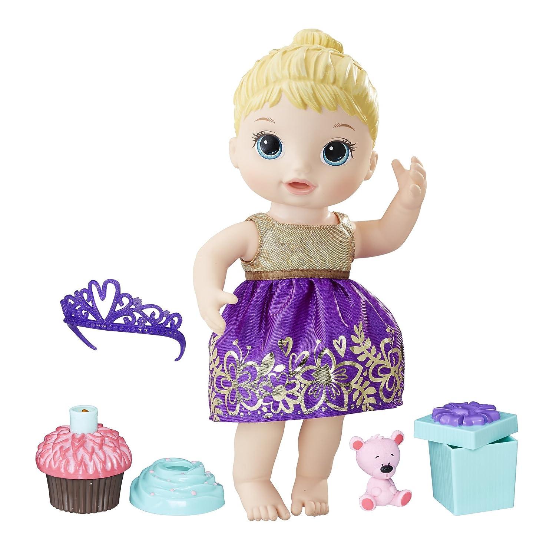 Baby Alive Cupcake Birthday Blonde Baby Doll