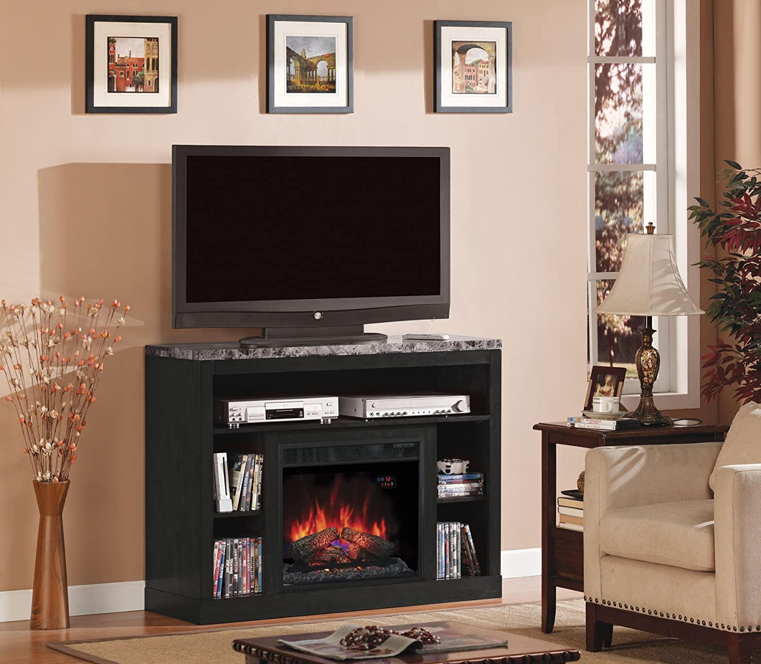 Empire Cherry (Electric Fireplace Insert sold separately): Kitchen & Dining
