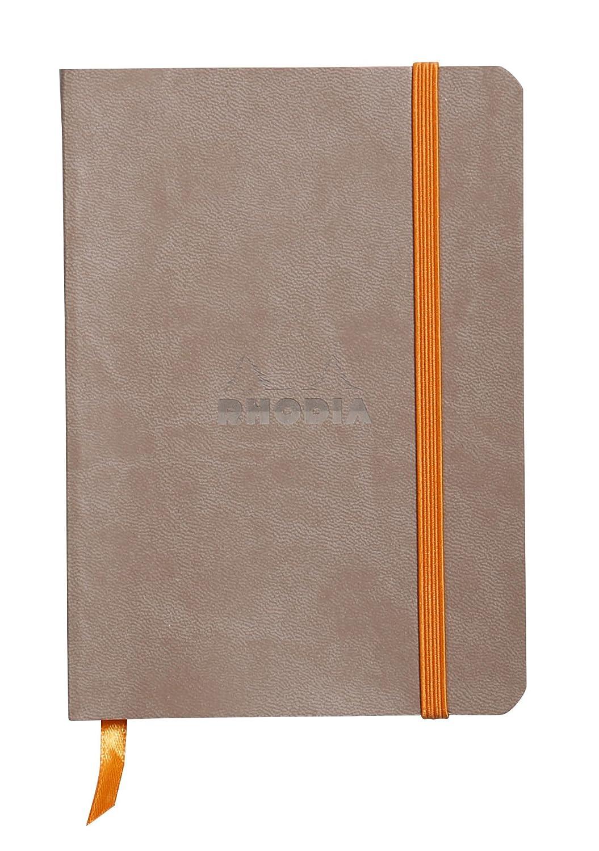 Rhodia 117351C - Cuaderno flexible, color plata C Rhodia