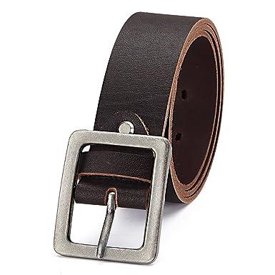 GIL-Design Herren Jeans Gürtel Büffel Ledergürtel 21453  Amazon.de   Bekleidung f4d088ad26