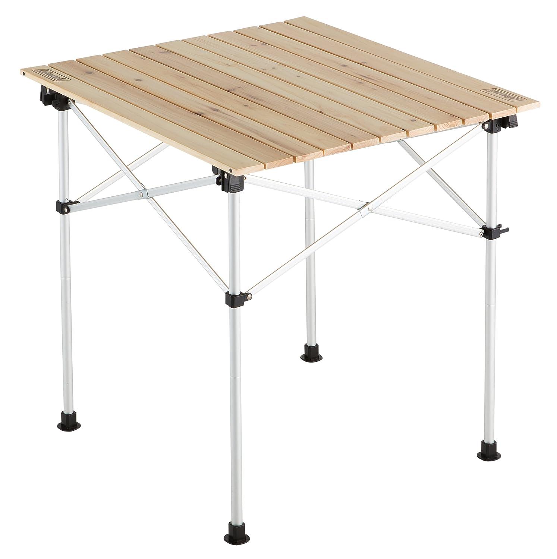 コールマン テーブル ナチュラルウッドロールテーブル65