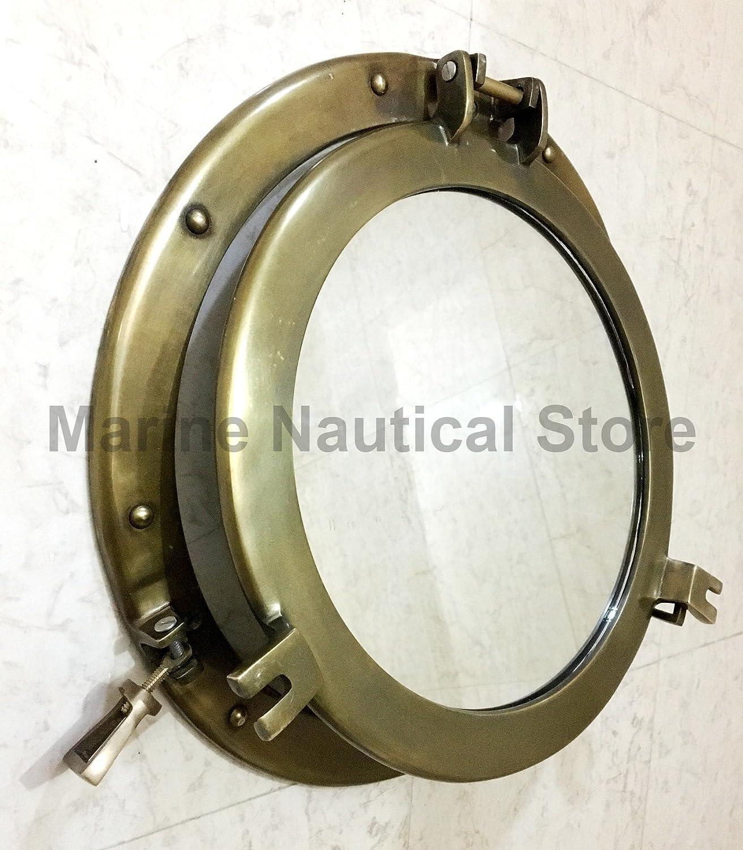 Vintage Style 43,2/cm obl/ò Tondo Coastal Wall Hanging Mirror obl/ò casa Chic