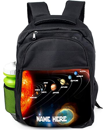 Final Space Boys School Bag Student Backpack Children Kids Rucksack Personalised