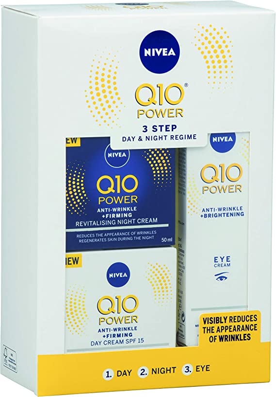 Paquete de regalo Nivea Q10 Power Rime: Amazon.es: Belleza