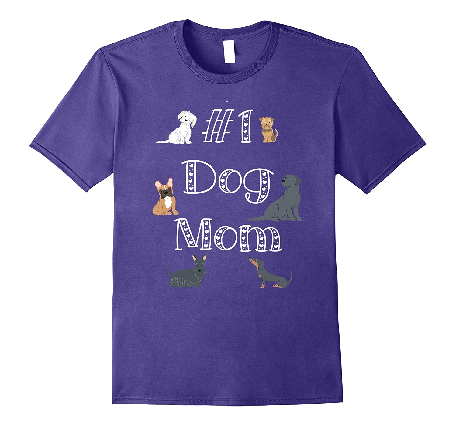 Unique Best Mom Dog Cool Shirt Mothers Day 1st Step Gifts-4LVS