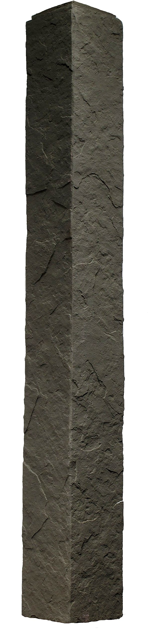 NextStone 5 1/2'' x 5 1/2'' x 48'' Sandstone Outside Corner Gray