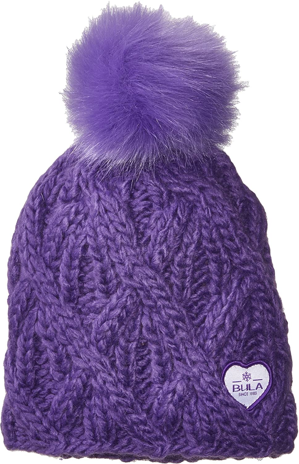 Amazon.com  Bula Girl s Kids Raquel Beanie (Big Kid) Grape One Size  Sports    Outdoors d4360b4e5fd4