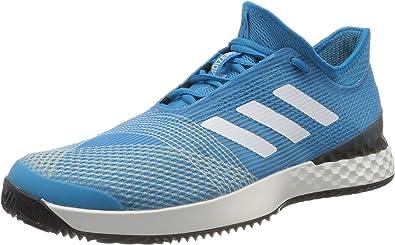 adidas Adizero Ubersonic 3 Clay Sandplatzschuh Herren Blau