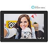 "Nixplay W10B Seed 10.1"" Widescreen Wi-Fi Cloud Digital Photo Frame with IPS Display, iPhone & Android App, iOS Video Playback, Free 10GB Online Storage, Alexa Integration and Hu-Motion Sensor, Black"