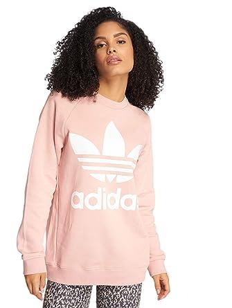 100% quality 50% price united kingdom adidas Originals Damen Pullover Oversized Sweat rosa 44 ...