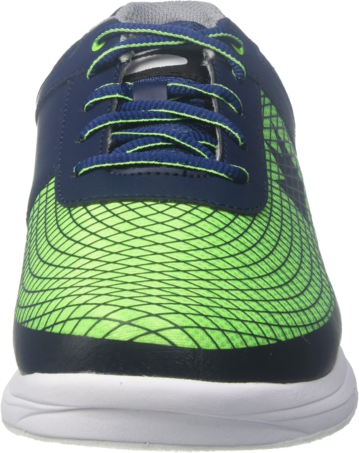 Brunswick Frenzy Mens Bowling Shoe Navy//Green 10.0