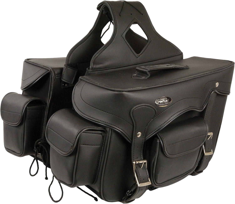 Milwaukee Leather Saddle Bag