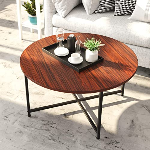 IRONCK Round Coffee Table