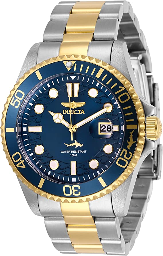 Invicta Men's Pro Diver Quartz Watch with Stainless Steel Strap